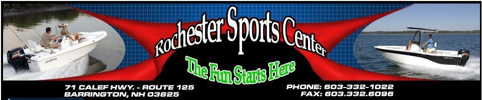 Rochester Sports Center logo banner